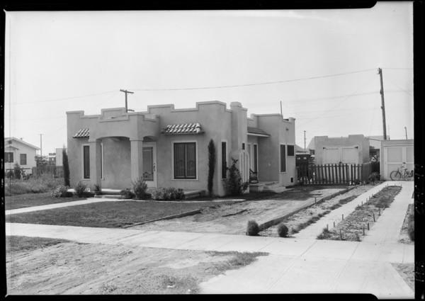 1342 West 61st Street, Los Angeles, CA, 1925