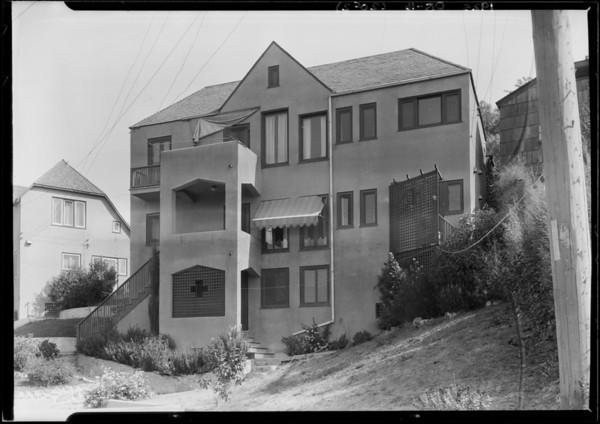 2522 Grand View Drive, 2548 Graciosa Drive, Hollywood, CA, 1925
