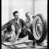 Publicity photos, Savenick Tire Co., Southern California, 1931