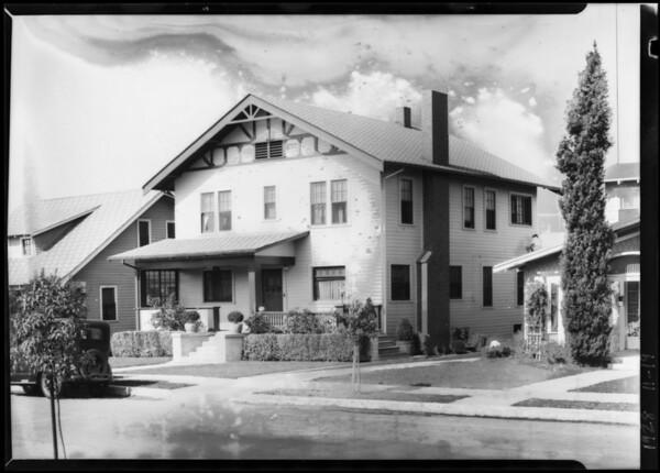 2049 Cambridge Street, Los Angeles, CA, 1928