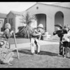View park, kids making movies, Southern California, 1928