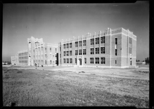 George Washington School, Southern California, 1928