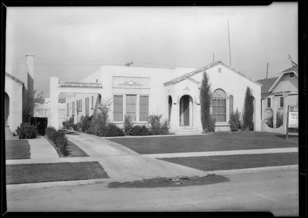 2829 12th Avenue, Los Angeles, CA, 1928