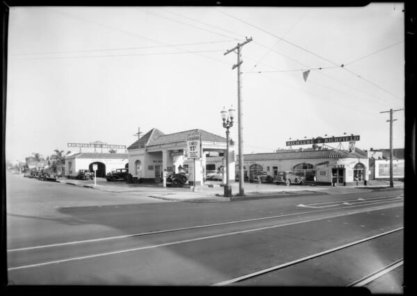 Service station, Los Angeles, CA, 1931