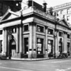 The Farmers and Merchants National Bank seen from the corner of Fourth Street and Main Street, Los Angeles, ca.1936-1958