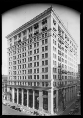 Exterior of building, Southern California, 1929