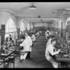 New shots of different department, National Auto School, Southern California, 1930