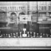 Window display, Citizens National Bank, West 3rd Street and South Broadway, Los Angeles, CA, 1930