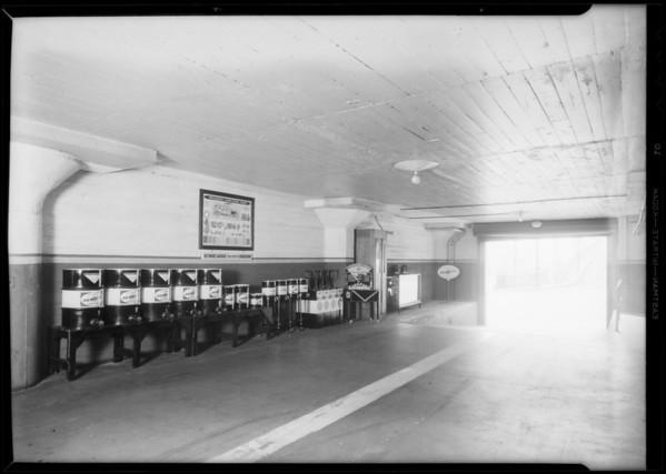 Full line, Biltmore garage 3rd floor, Southern California, 1931