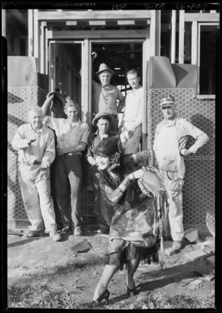 Billy Barnes in Spanish costume, Leimert Park, Los Angeles, CA, 1928