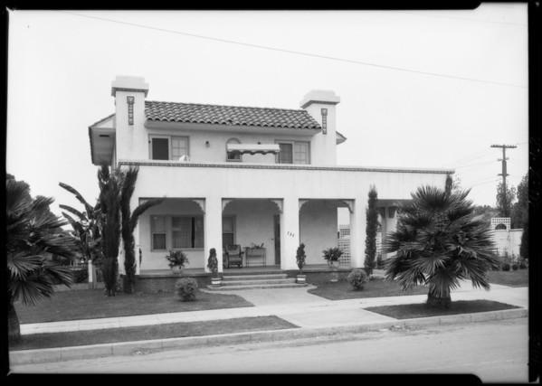 730 4th Street, Santa Monica, CA, 1925