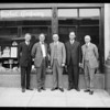 Group at Young's Market Company, West 7th Street and South Union Avenue, Los Angeles, CA, 1925