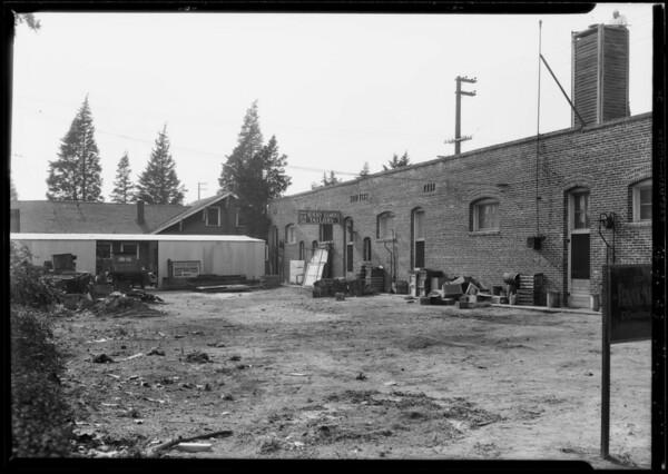 Safeway store vs. Bruse Harris, Beverly and Normandie, Los Angeles, CA, 1928
