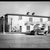 Apartments at Grace Avenue and Franklin Avenue, Los Angeles, CA, 1928