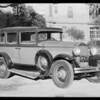 Willys Knight, Ferguson, owner, Southern California, 1931