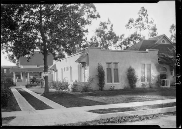 Wisconsin Street house, 3845 Wisconsin Street, Los Angeles, CA, 1924