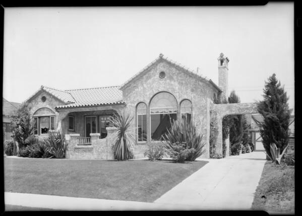 932 South Burnside Avenue, Los Angeles, CA, 1929