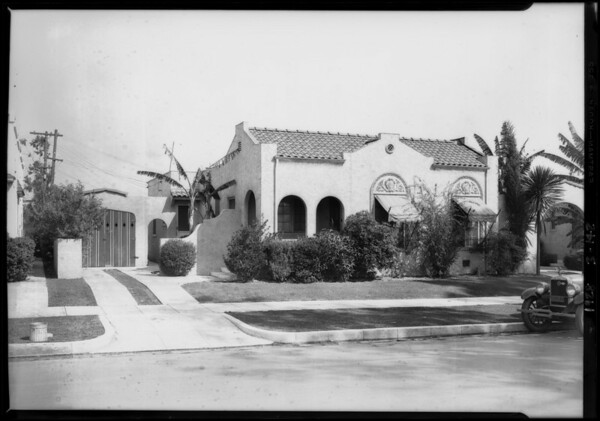 824 North Wilton Place, Los Angeles, CA, 1928