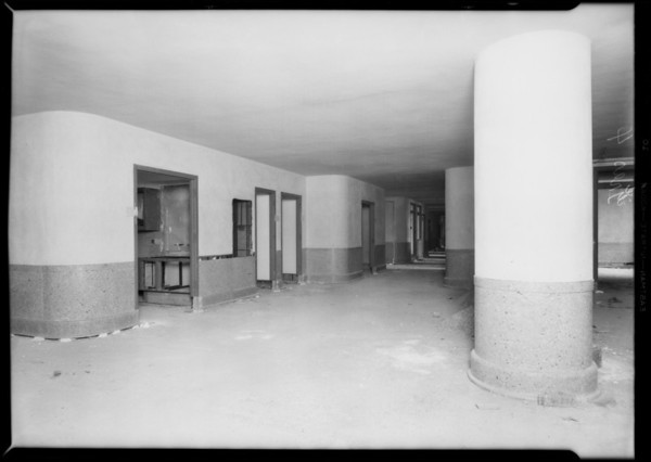 County Hospital, Grassi Co., Los Angeles, CA, 1931