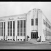Exterior of building, Hoffman Candy Co., Los Angeles, CA, 1929