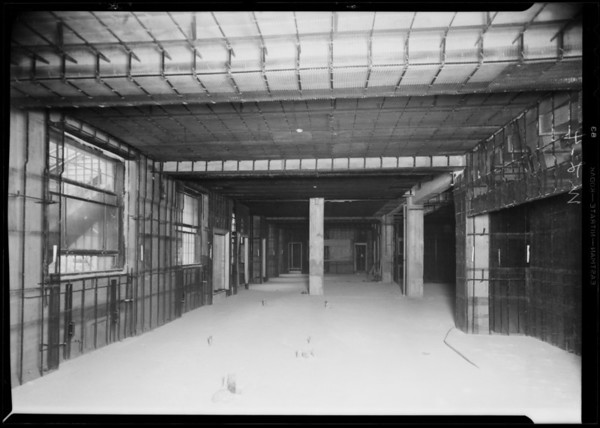 County Hospital installations, Western Lathing, Los Angeles, CA, 1931