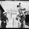 Shipment to London via S. S. Gracia, Jackson Bell Radio, Southern California, 1931