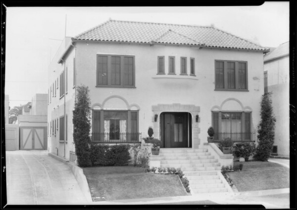631-33 North Plymouth Boulevard, Los Angeles, CA, 1928