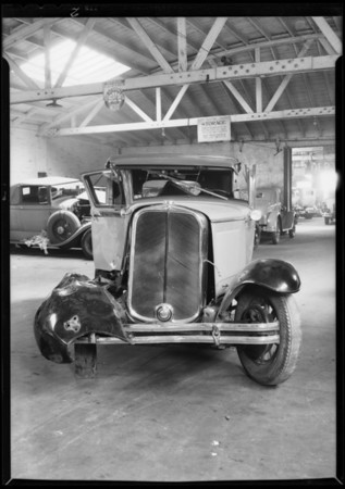 Marquette coupe, American Auto Insurance Co., Southern California, 1931