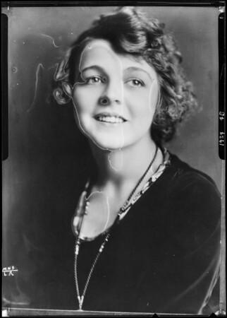 Helene Chadwick, Southern California, 1924