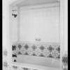 Bathrooms in homes of Mr. Crissman, 1107 & 1109 Peavine Canyon Road, Beverly Hills, CA, 1928