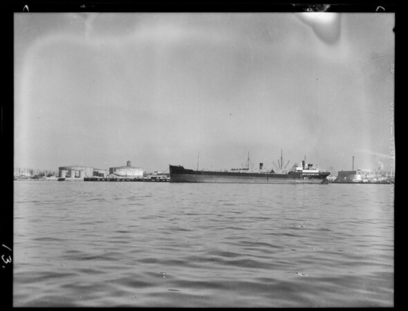 Views at harbor, San Pedro, CA, 1931