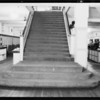 Staircase, store basement, Southern California, 1931
