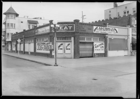 2901 & 2903 Ocean Front & Ashland Avenue, Ocean Park, Santa Monica, CA, 1928