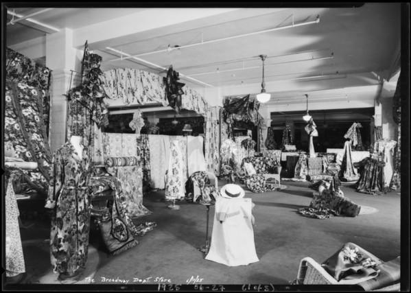 Cretonnes, Los Angeles, CA, 1925