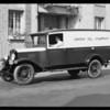 Union Oil truck, Southern California, 1930