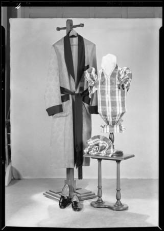 Setups in studio, Silverwood's, Southern California, 1929