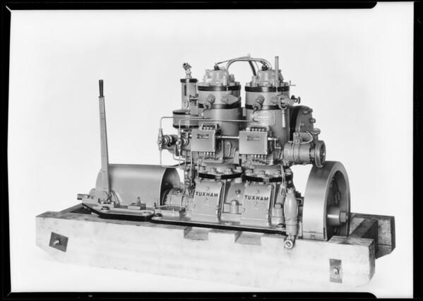 Motor, Tuxham Manufacturing Co., Southern California, 1931