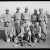 Baseball team, Los Angeles Creamery, Hollywood, Southern California, 1925