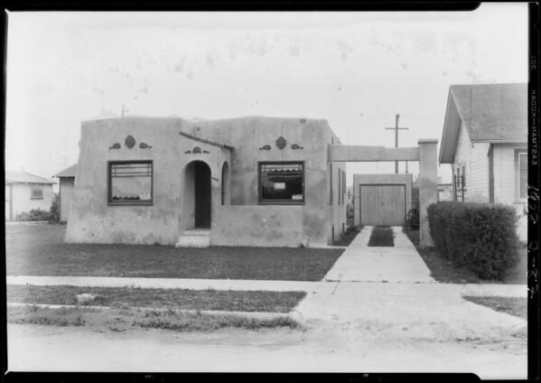 408 East 107th Street, Los Angeles, CA, 1928