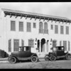 Apartment houses, 707 West 74th Street, 423 West 50th Street, 437 West 50th Street, Los Angeles, CA, 1929