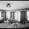 Interior & exterior of 1717 Virginia Road, Los Angeles, CA, 1928