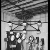 Lighting equipment and all cameras, Southern California, 1930