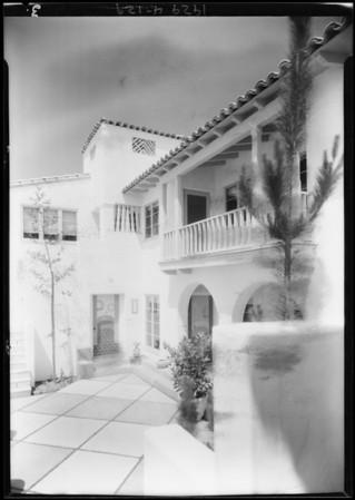Publicity shots, Leimert Co., Southern California, 1929