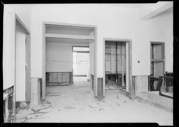 Work at County Hospital, Metal Door & Trim Co., Los Angeles, CA, 1931