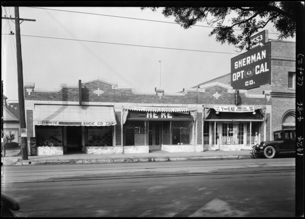 R.E. Shapland, 3575-3579 South Vermont Avenue, Los Angeles, CA, 1924