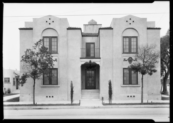 603 Euclid Avenue, Los Angeles, CA, 1925