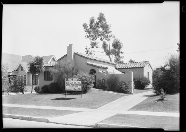 948 South Muirfield Road, Los Angeles, CA, 1928