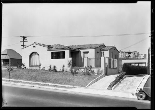 W. L. King home, 4719 Angeles Vista Boulevard, Lloyd King home in University Unit, Los Angeles, CA, 1928