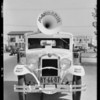 Mandarin Food Products car, Southern California, 1930