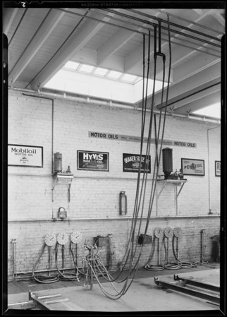 Selected greasing stations, Southern California, 1931